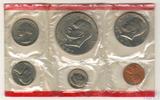 Годовой набор монет США, 1977 г., монетный двор D