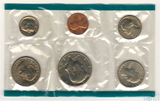 Годовой набор монет США, 1980 г., монетный двор P