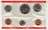 Годовой набор монет США, 1984 г., монетный двор D