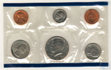 Годовой набор монет США, 1986 г., монетный двор P