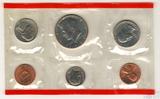 Годовой набор монет США, 1986 г., монетный двор D