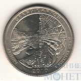 "25 центов США, 2010 г., ""Национальный парк Гранд-Каньон"" P"