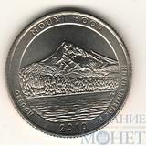 """25 центов США, 2010 г., """"Национальный лес Маунт Худ"""" P"""