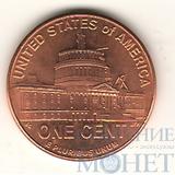 """1 цент США, 2009 г., юбилейная монета """"Период президентства"""""""