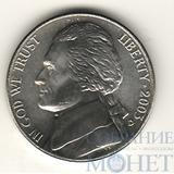 5 центов США, 2003 г., D