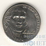 5 центов США, 2007 г., D