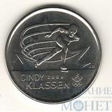 """25 центов, 2009 г., Канада,""""Синди Классен"""""""
