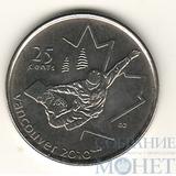 "25 центов, 2008 г., Канада,""Сноуборд"""