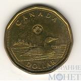 """1 доллар, 2012 г., Канада,""""Утка"""""""