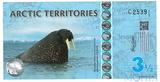 3,5 доллара, 2014 г., Арктические территории