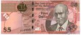 5 долларов, 2007 г., Багамы