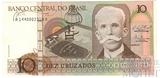 10 крузейро, 1987 г., Бразилия