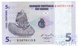 5 сентим, 1997 г., Конго