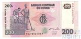 200 франков, 2007 г., Конго