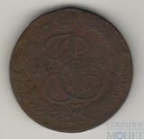 5 копеек 1764 г., ЕМ