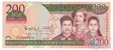 200 песо, 2009 г., Доминикана