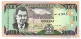 100 долларов, 2009 г., Ямайка