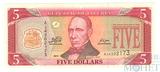 5 долларов, 2011 г., Либерия