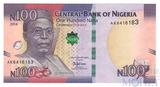 100 найра, 2014 г., Нигерия