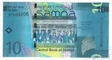 10 тала, Самоа