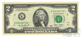 2 доллара, 2010 г., США