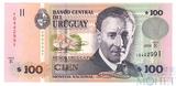 100 песо, 2008 г., Уругвай