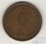 1 пенни, 1837 г., Канада