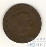 5 сентимо, 1900 г., Франция