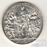 "3 марки, серебро, 1913 г.,""100 летие битвы при Ватерлоо"", Пруссия(Германия)"