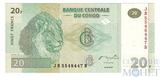20 франков, 2003 г., Конго