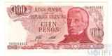 100 песо, 1976-1978 гг.., Аргентина