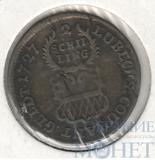 2 шиллинга, серебро, 1727 г., KM#142, Ag 437, Любек(Германия)