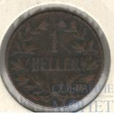 1 геллер, 1907 г., Германская Восточная Африка