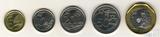 Набор из 5 монет, 2013 г., Сингапур