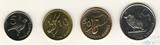 Набор из 4 монет, 2012 г., Замбия