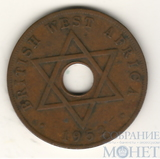 1 пенни, 1952 г., Британская Западная Африка
