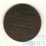 1 цент, 1839 г., W, Нидерланды(Вест-Индия)