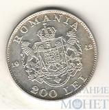 200 лей, серебро, 1942 г., Румыния