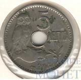 5 лепта, 1912 г., Ni, Греция