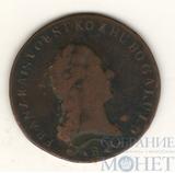 1 крейцер, 1812 г., В, Сu, Австрия, Франц II