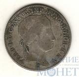 5 крейцеров, серебро, 1840 г., С, Ag 438, Австрия, Фердинанд I