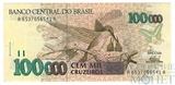 100000 крузейро, 1992-93 гг.., Бразилия