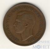 1 пенни, 1937 г., Великобритания, Георг VI