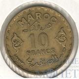 10 франков, 1952 г., 1371 г.х.