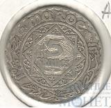5 франков, серебро, 1933 г., Ag 600, (Ан 1352)