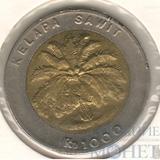 1000 рупий, 1996 г., Индонезия