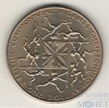 1 доллар, 1974 г., Новая Зеландия