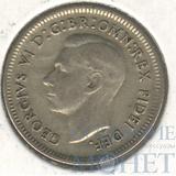 6 пенс, серебро, 1950 г., Ag 500, Австралия