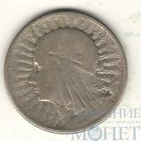 2 злотых, серебро, 1932 г., Польша