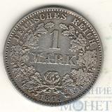 1 марка, серебро, 1875 г., Германия